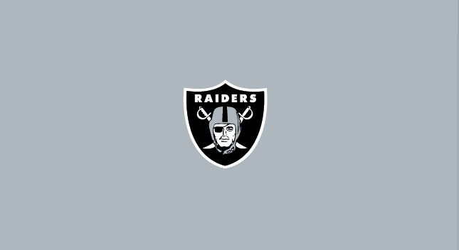 OAKLAND RAIDERS POOL TABLE FELT