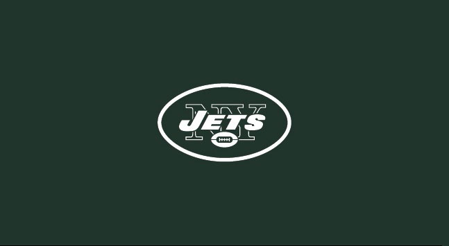 NEW YORK JETS POOL TABLE FELT