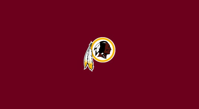 WASHINGTON REDSKINS POOL TABLE FELT