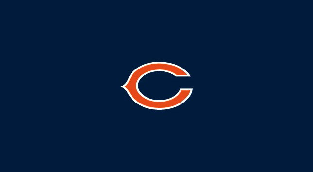 CHICAGO BEARS POOL TABLE FELT