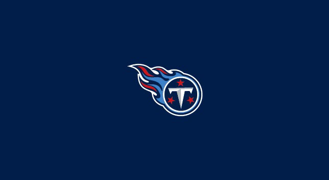 TENNESSEE TITANS POOL TABLE FELT