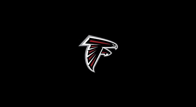 ATLANTA FALCONS POOL TABLE FELT