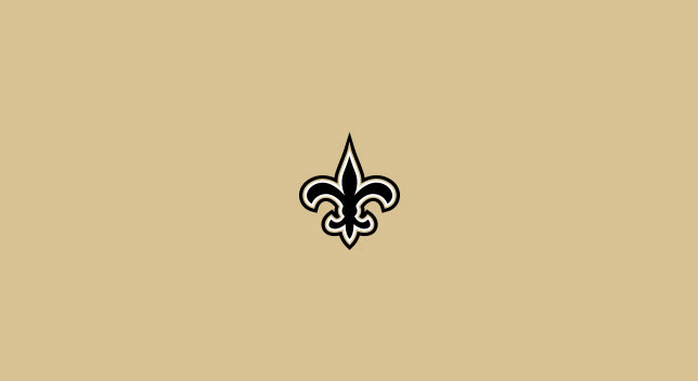 NEW ORLEANS SAINTS POOL TABLE FELT