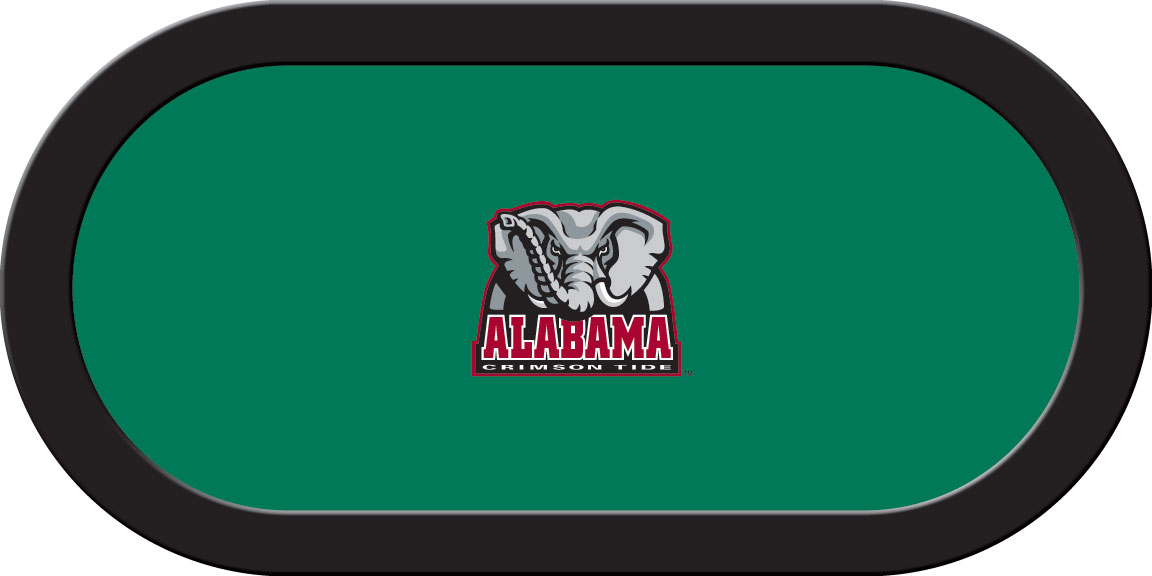 Alabama Crimson Tide – Texas Hold'em Felt (A)
