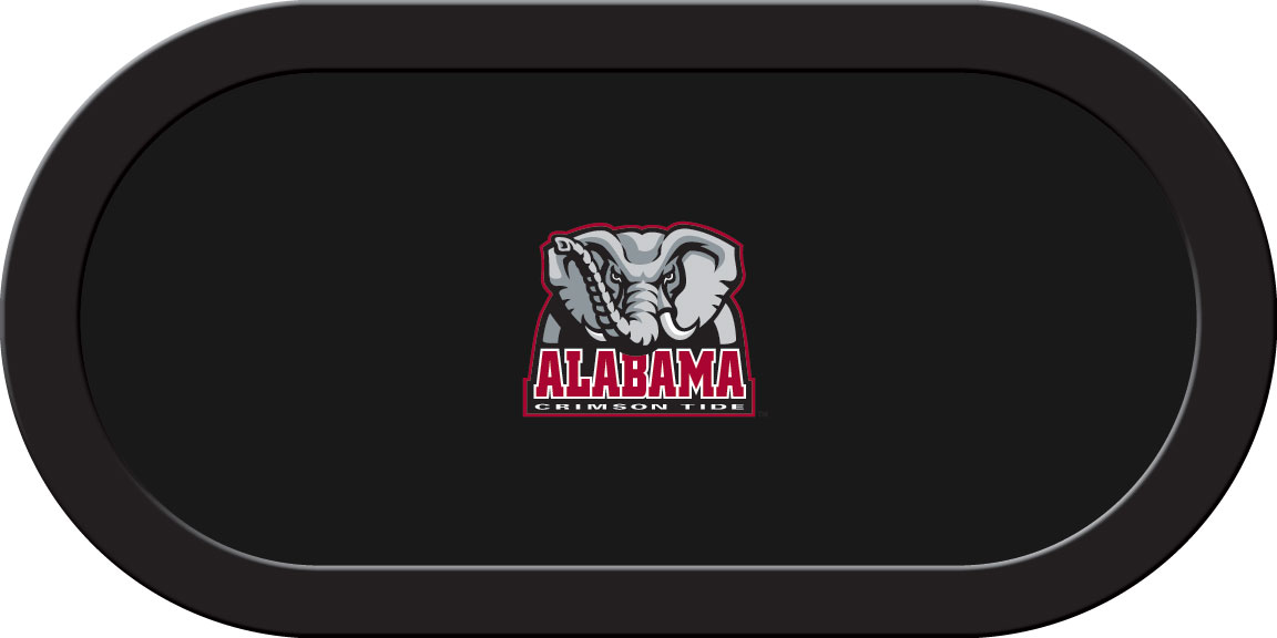 Alabama Crimson Tide – Texas Hold'em Felt (C)