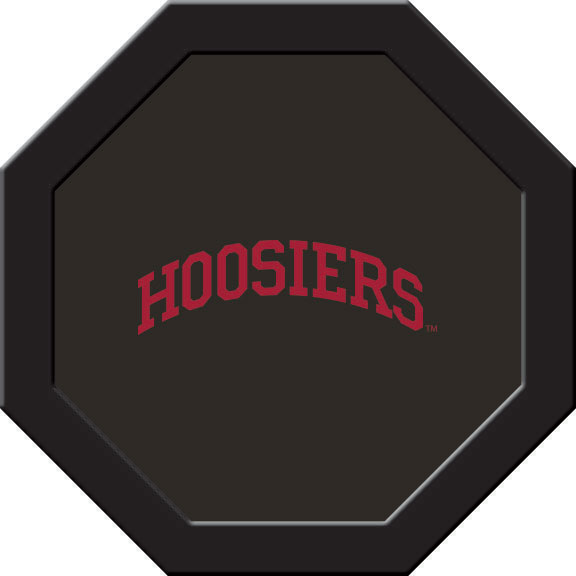 Indiana Hoosiers Felt On 50″ Octagon Game Table (C)