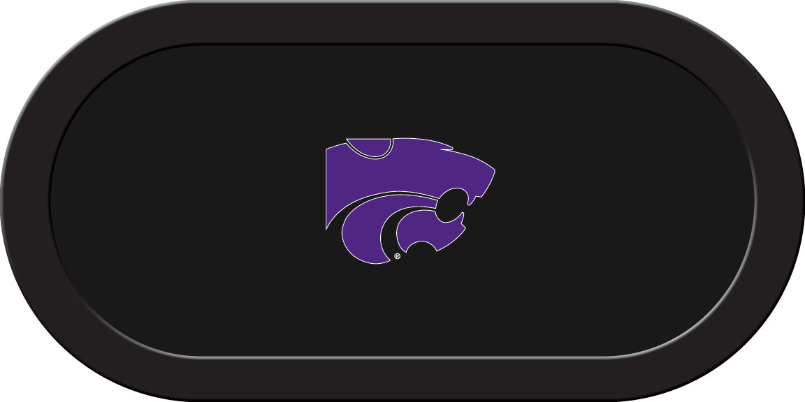 Kansas State Wildcats – Texas Hold'em Felt (A)