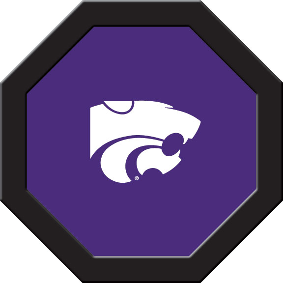 Kansas State Wildcats – Game Table Felt (B)
