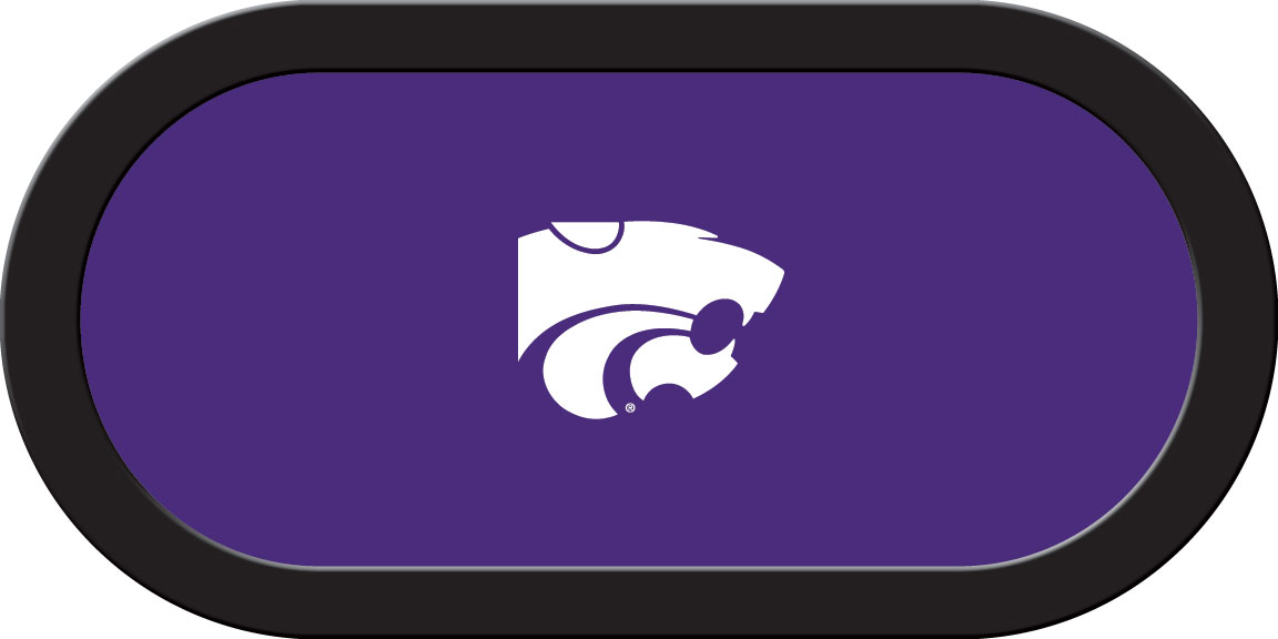 Kansas State Wildcats – Texas Hold'em Felt (B)