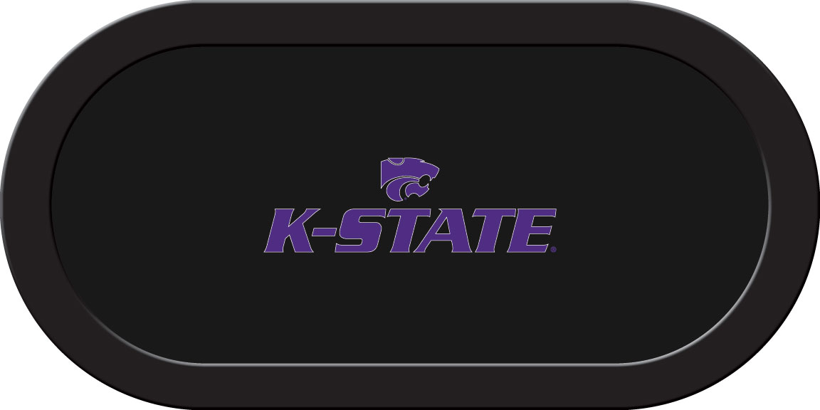 Kansas State Wildcats – Texas Hold'em Felt (C)