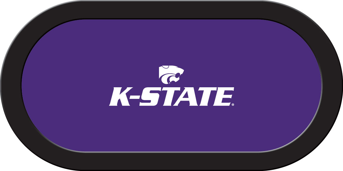 Kansas State Wildcats – Texas Hold'em Felt (D)