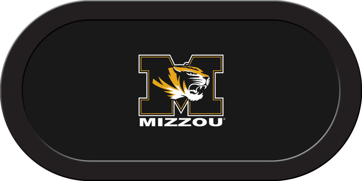 Missouri Tigers – Texas Hold'em Felt (A)