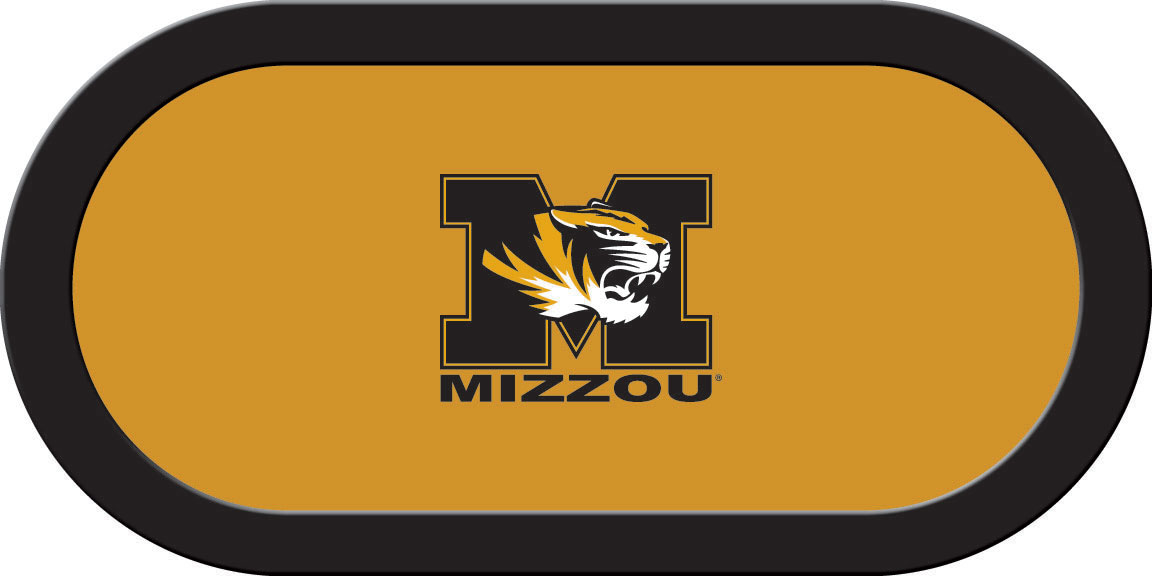Missouri Tigers – Texas Hold'em Felt (B)