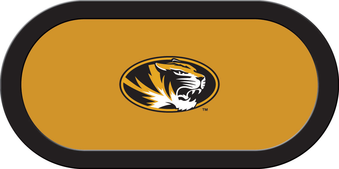 Missouri Tigers – Texas Hold'em Felt (C)