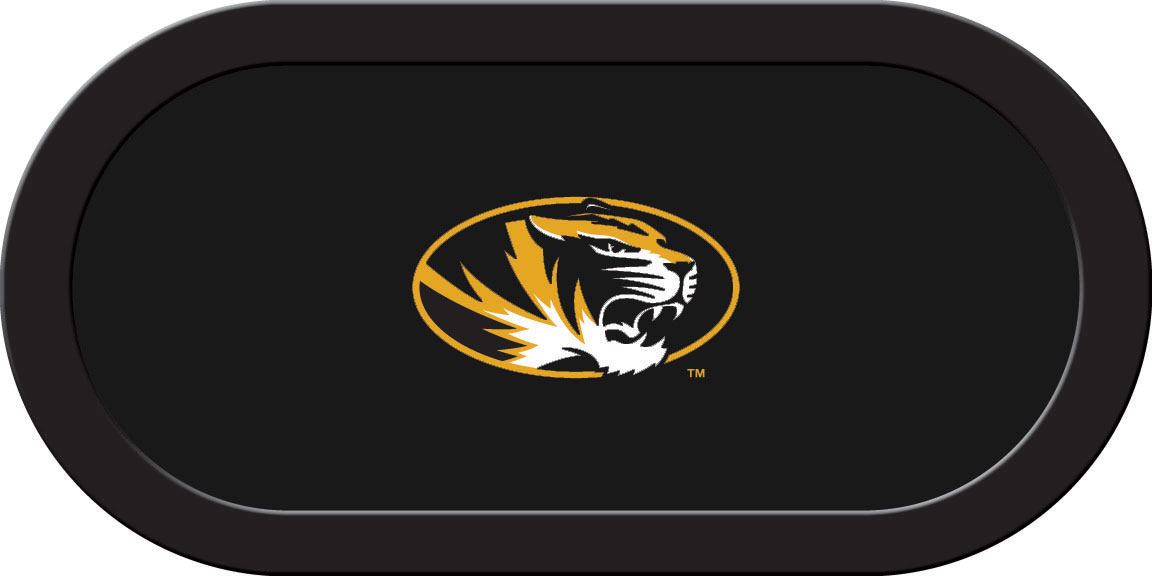Missouri Tigers – Texas Hold'em Felt (D)