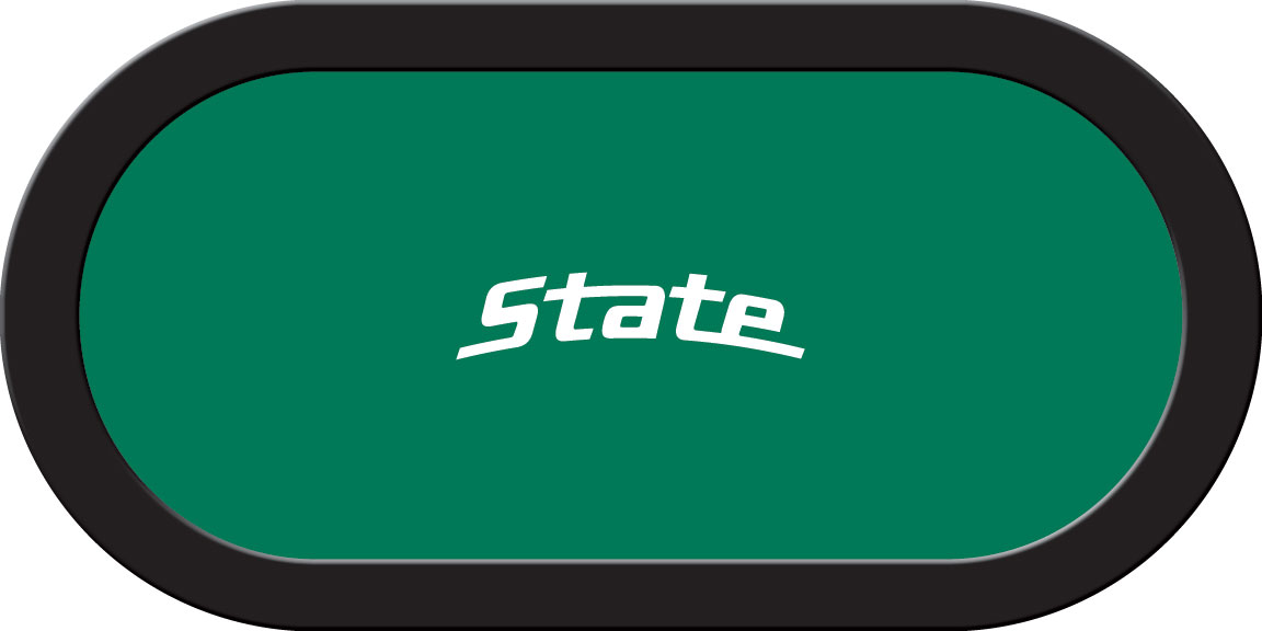 Michigan State Spartans – Texas Hold'em Felt (C)