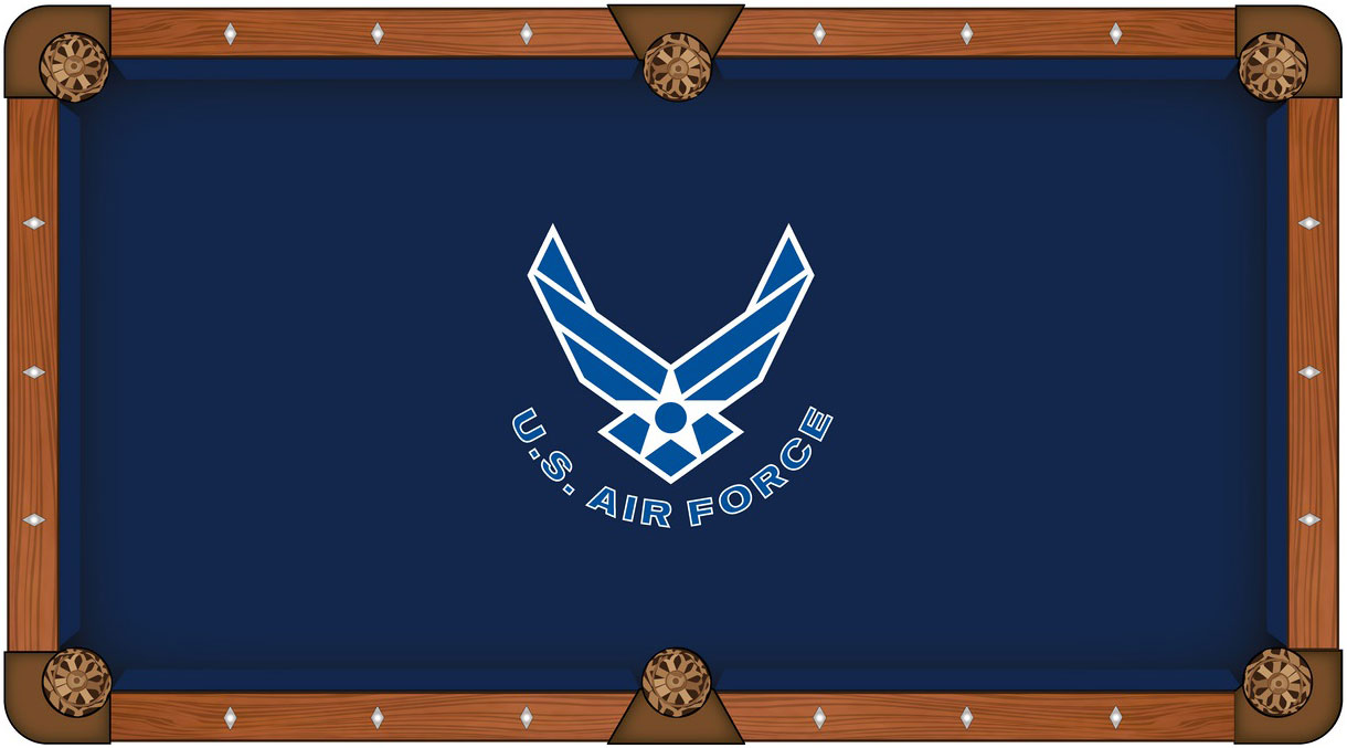 US Air Force Pool Table Felt