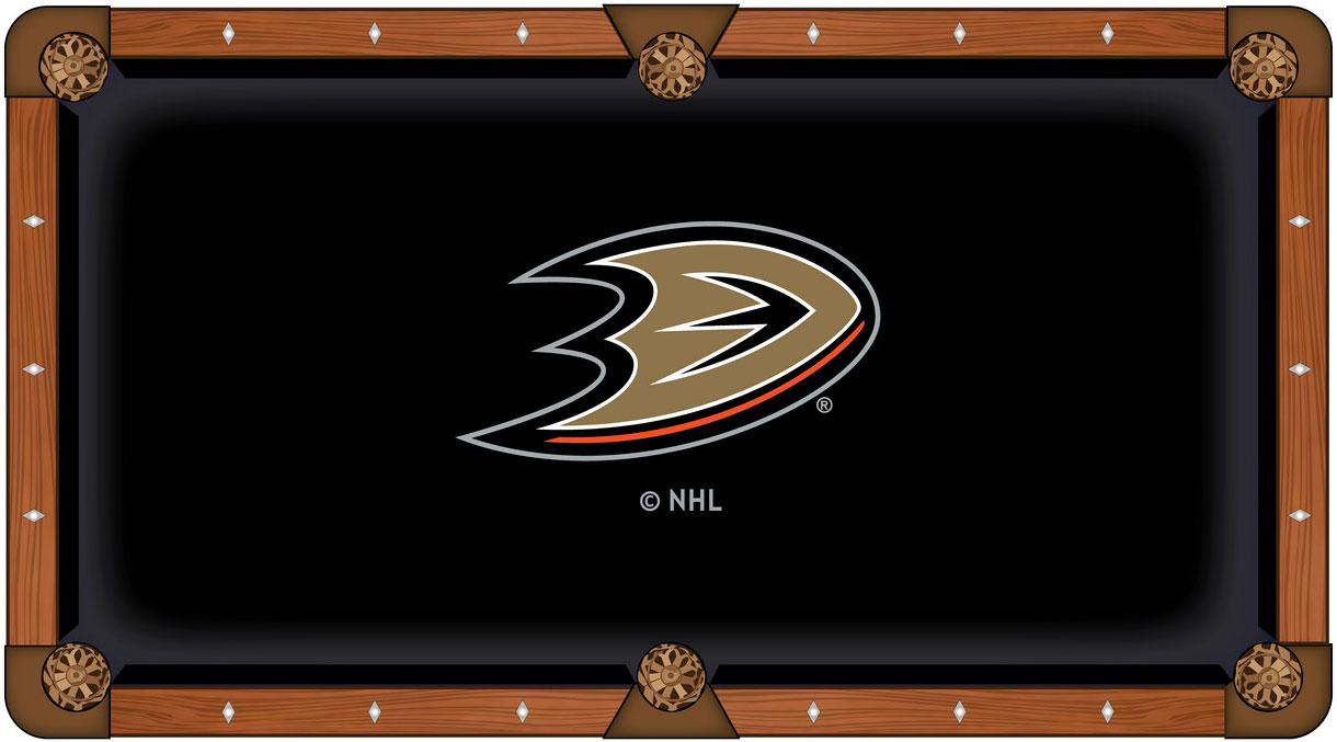 Anaheim Ducks Pool Table Felt
