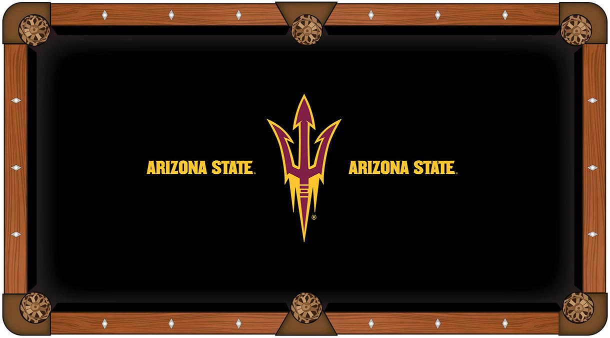 Arizona State Sun Devils pool table felt