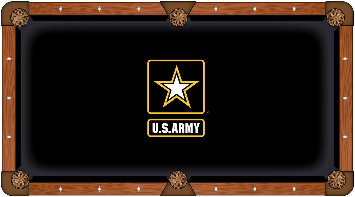 US Army Pool Table Felt