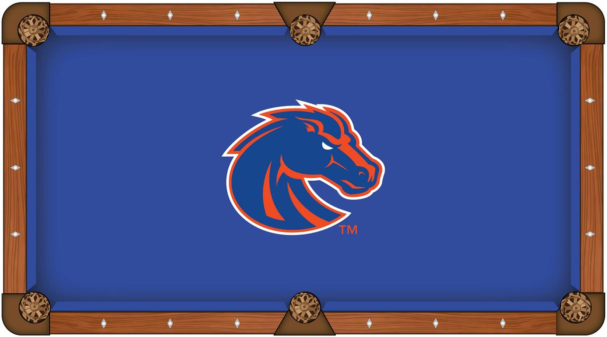 Boise State Broncos Pool Table Felt