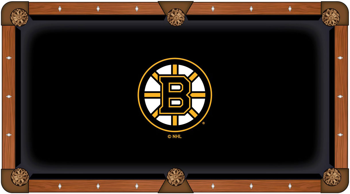 Boston Bruins Pool Table Felt