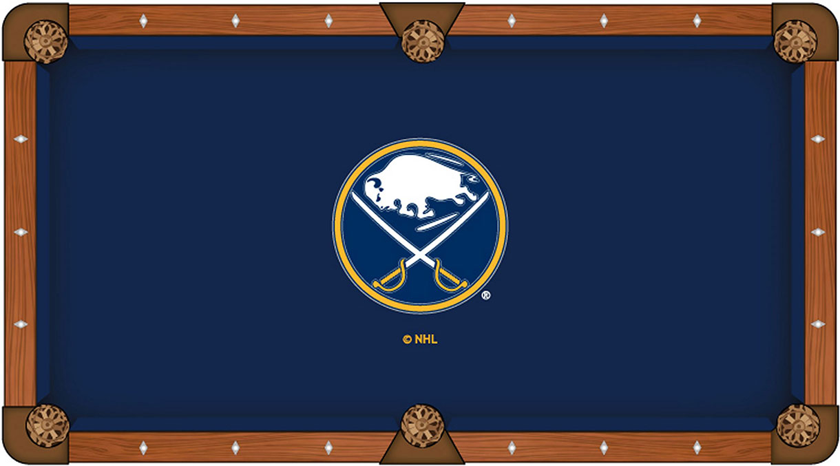 Buffalo Sabres Pool Table Felt
