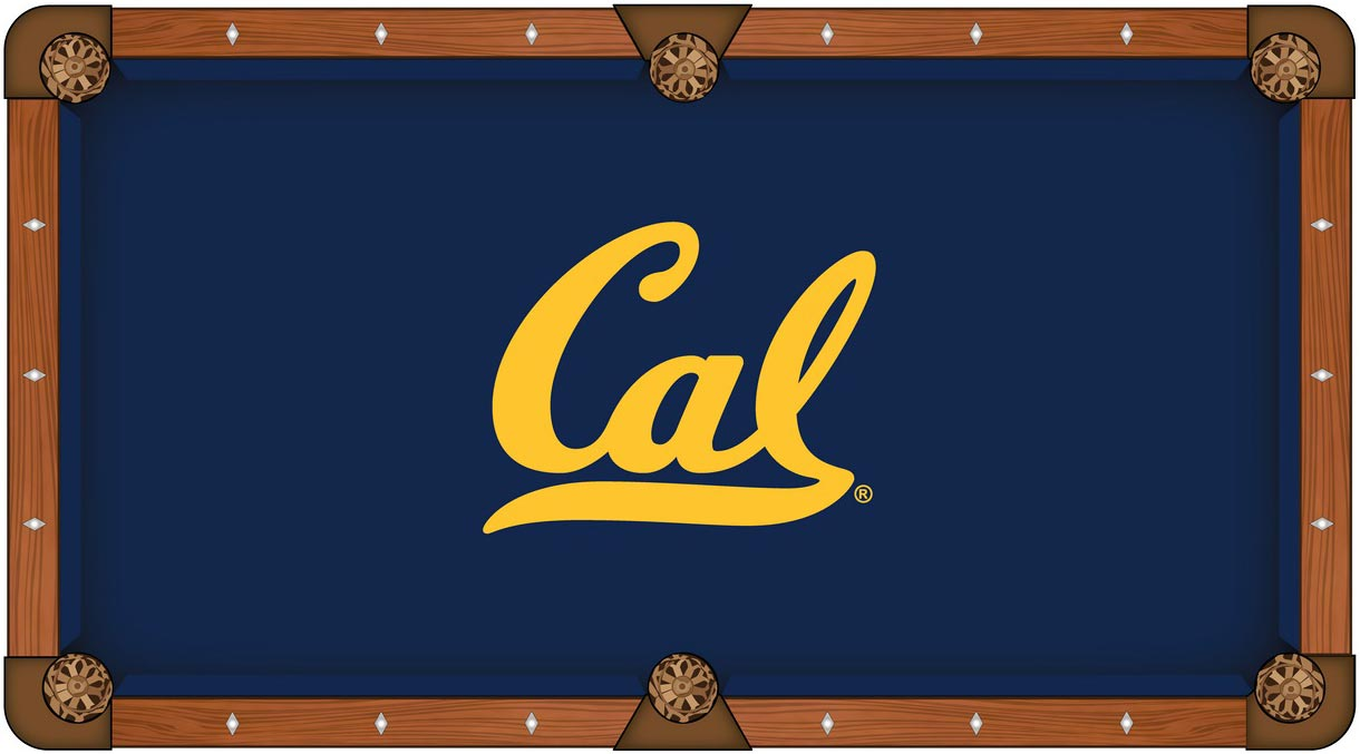 California Golden Bears Pool Table Felt