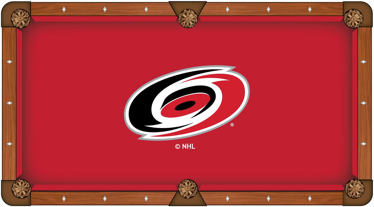 Carolina Hurricanes Pool Table Felt