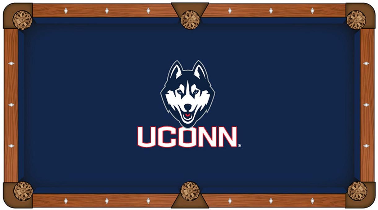 UCONN Huskies Pool Table Felt