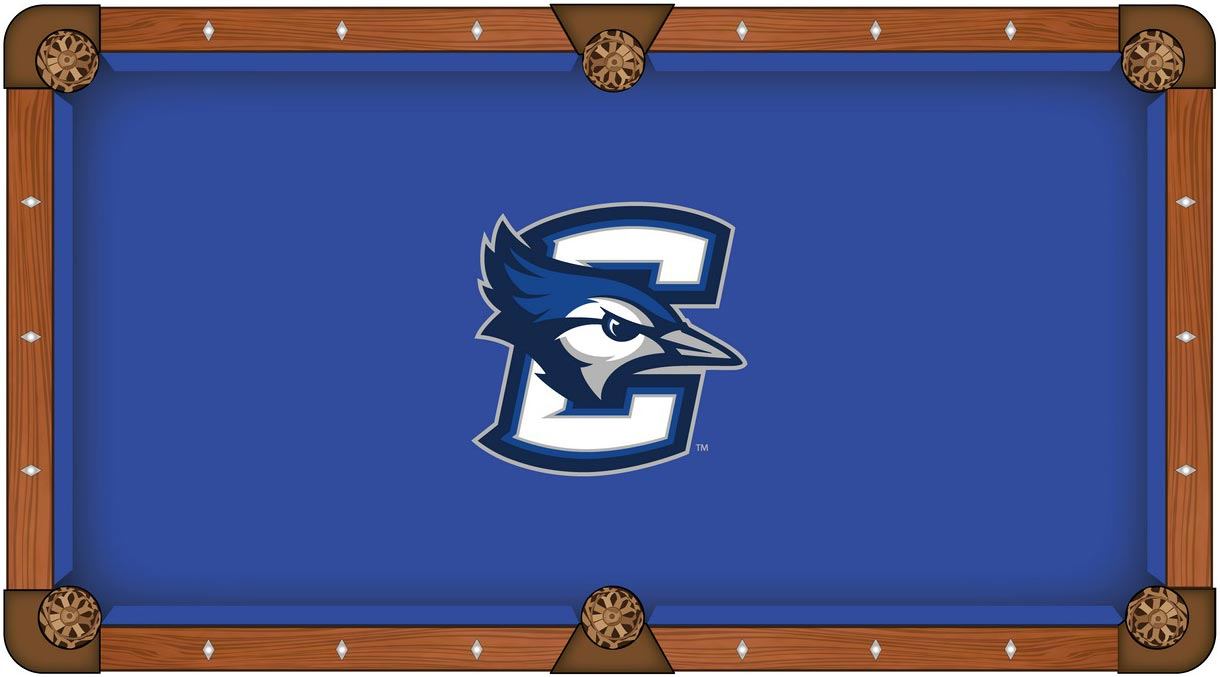 Creighton Blue Jays pool table felt