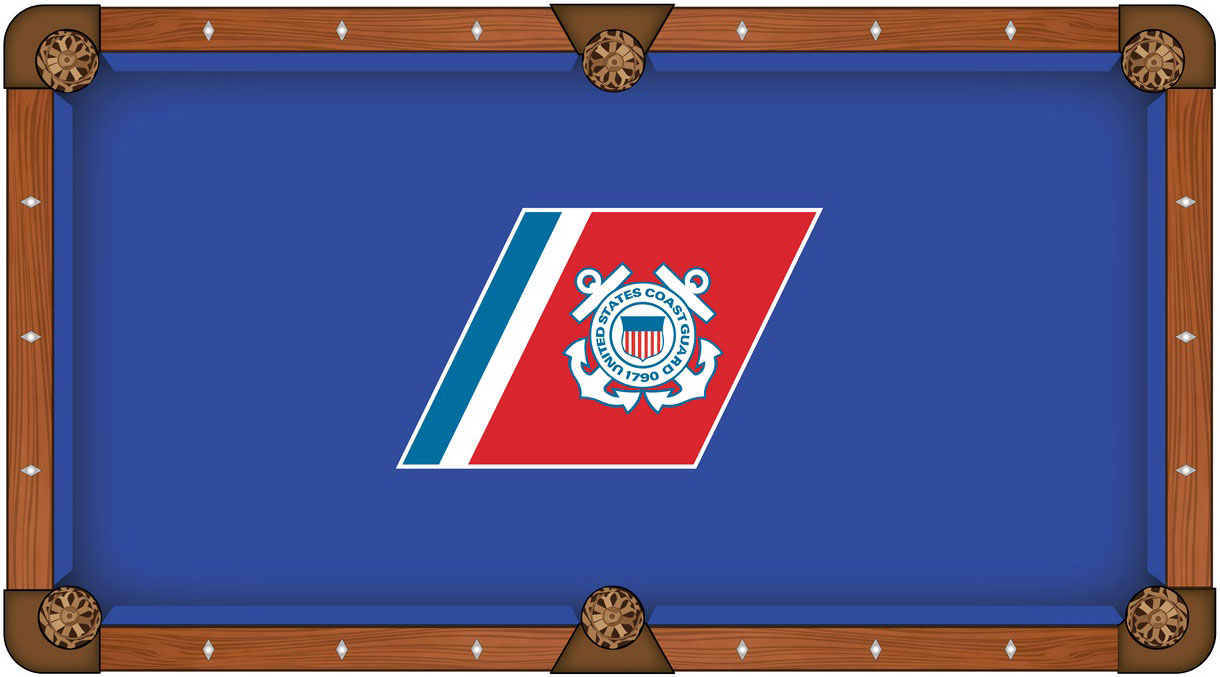 US Coast Guard Pool Table Felt