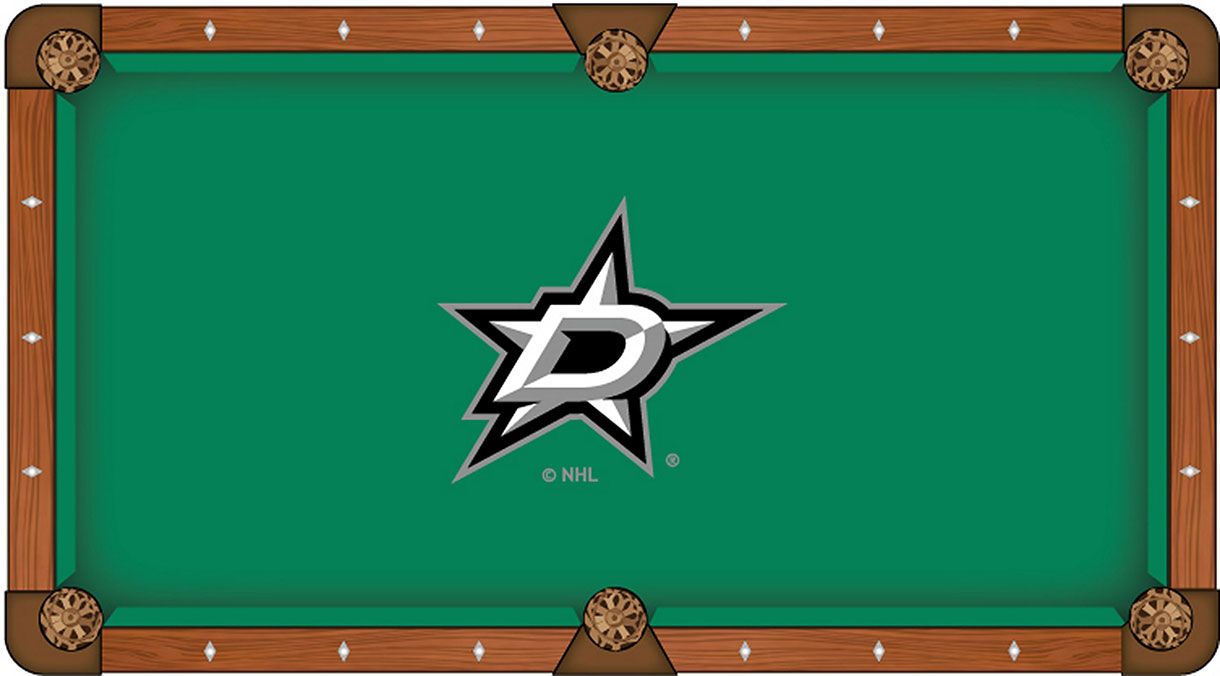 Dallas Stars Pool Table Felt