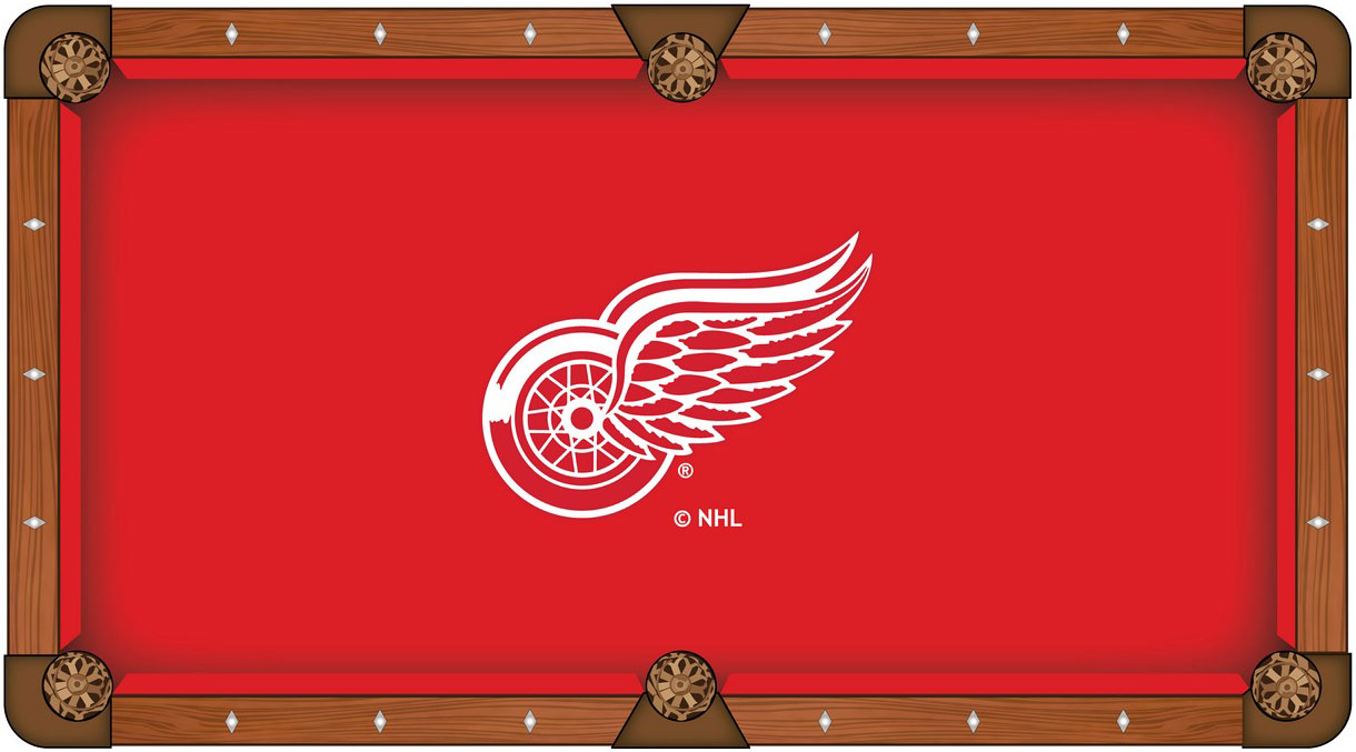 Detroit Red Wings Pool Table Felt