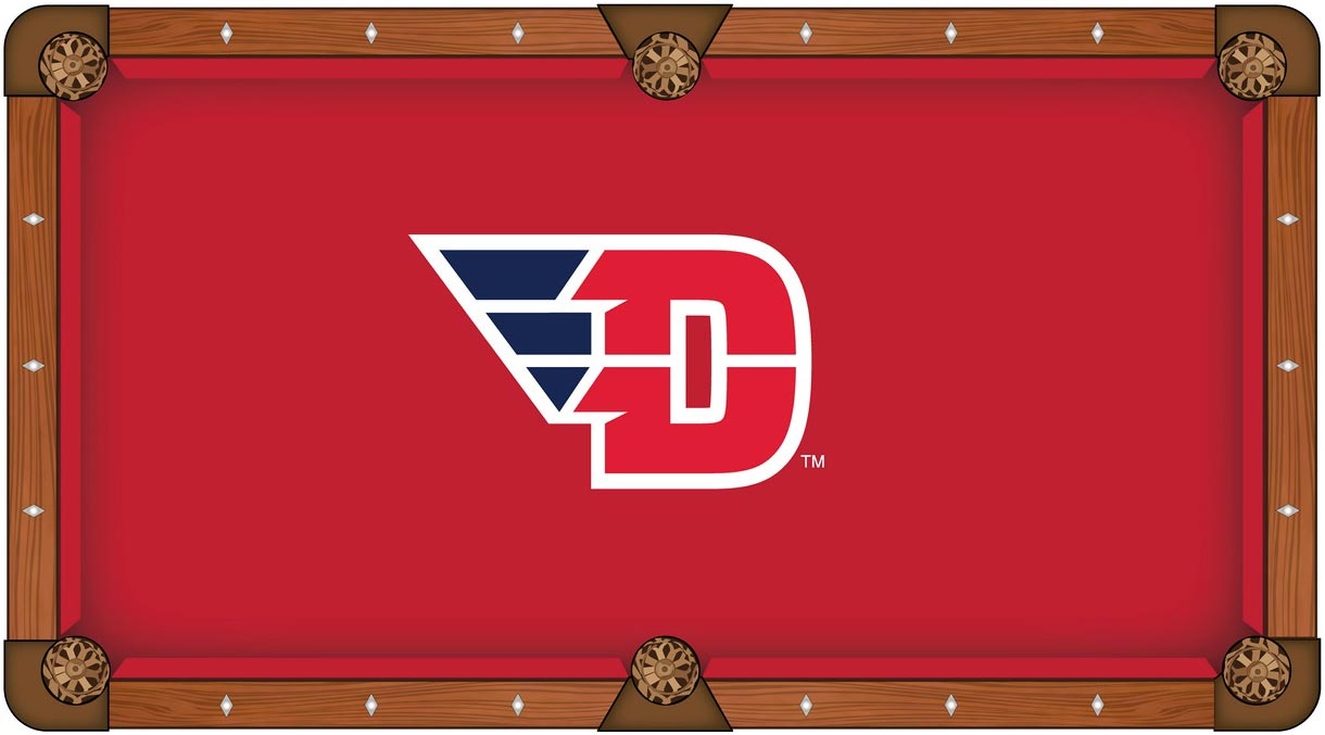 Dayton Flyers Pool Table Felt