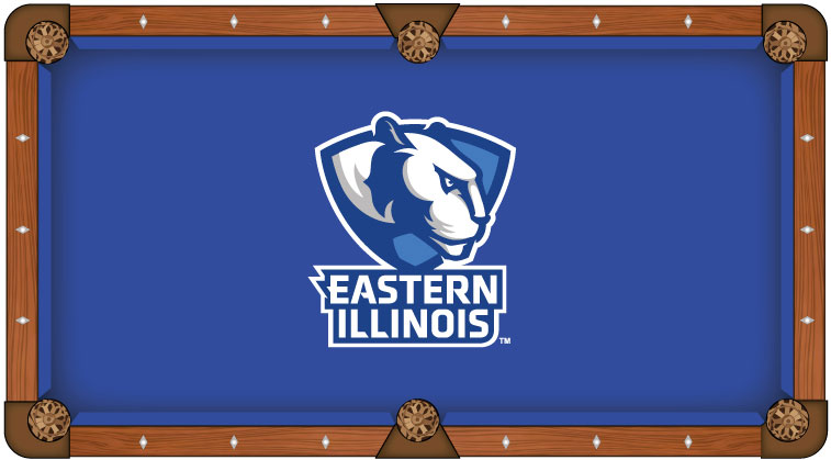 Eastern Illinois University Pool Table Felt