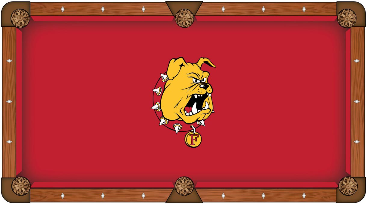 Ferris State University Pool Table Felt