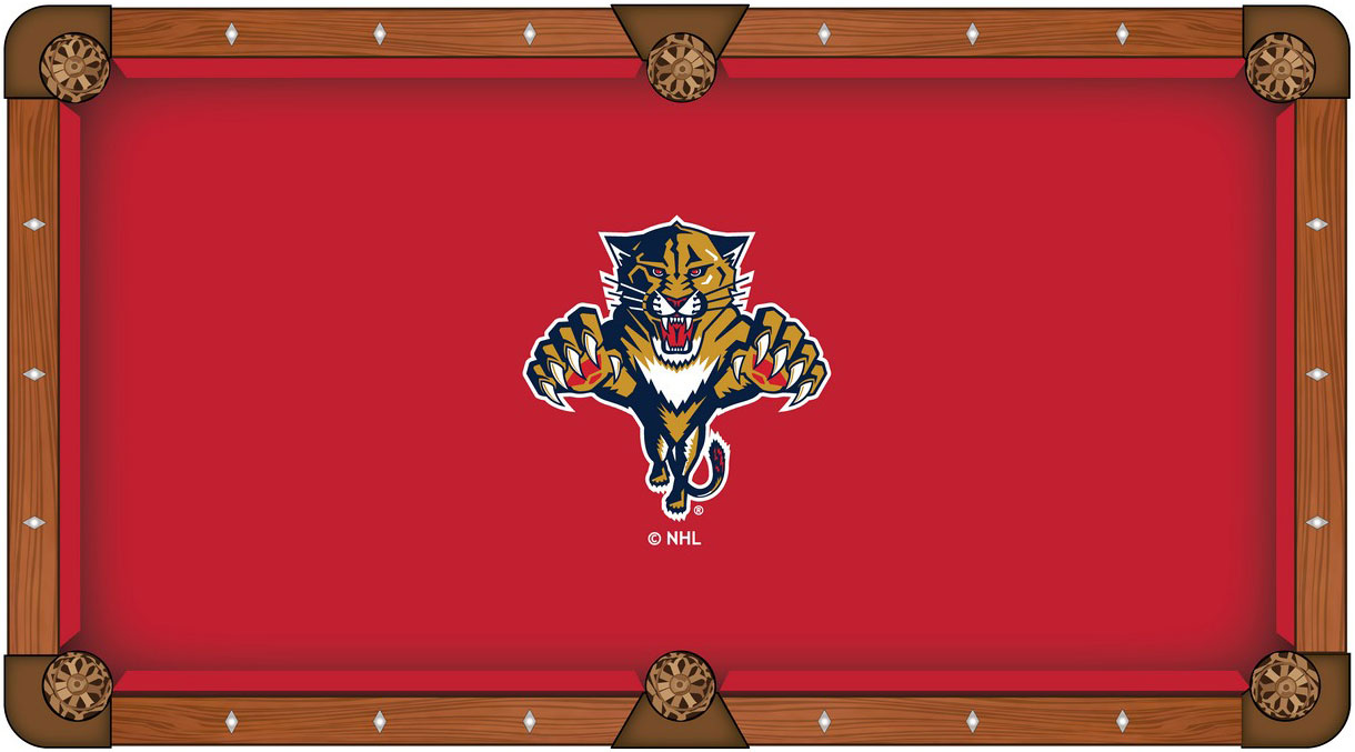 Florida Panthers Pool Table Felt