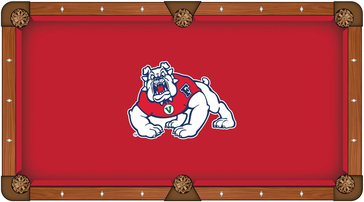 Fresno State University Pool Table Felt