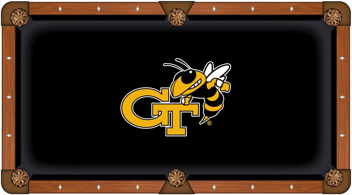 Georgia Tech Pool Table Felt