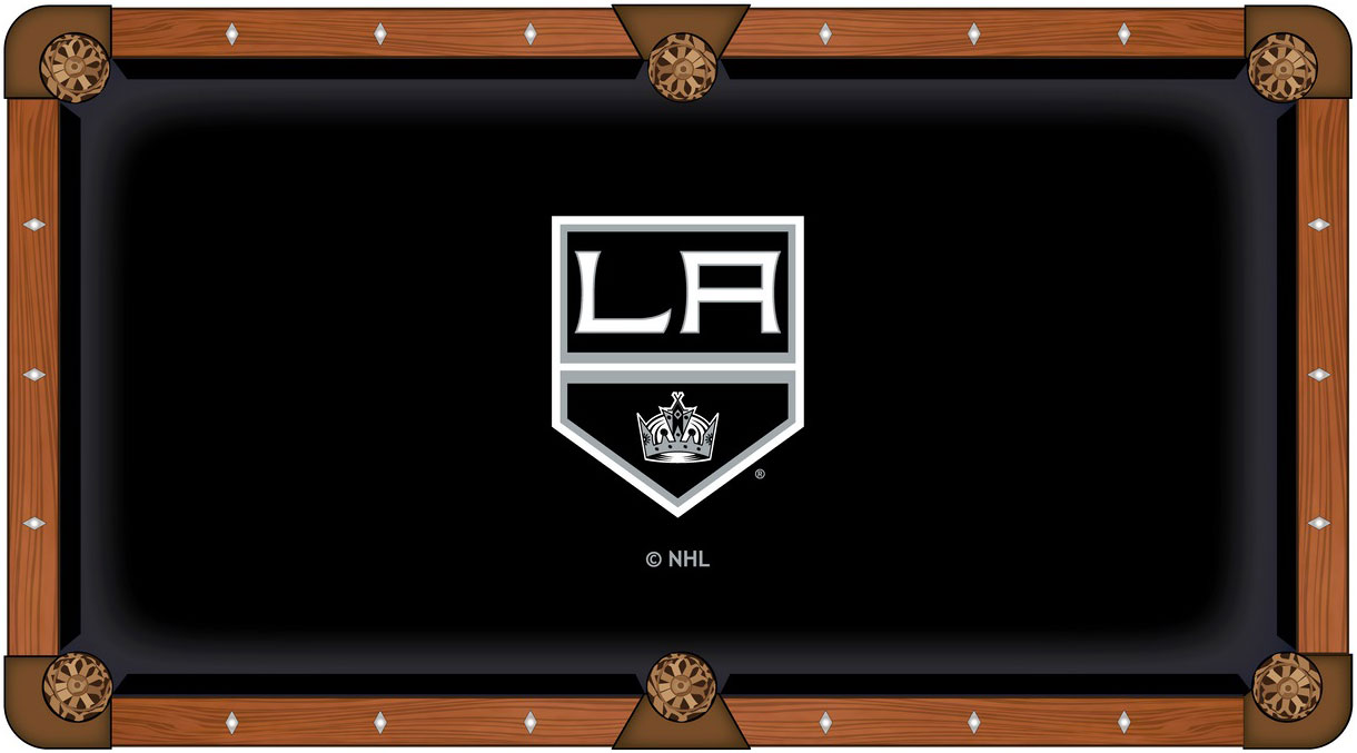 Los Angeles Kings Pool Table Felt