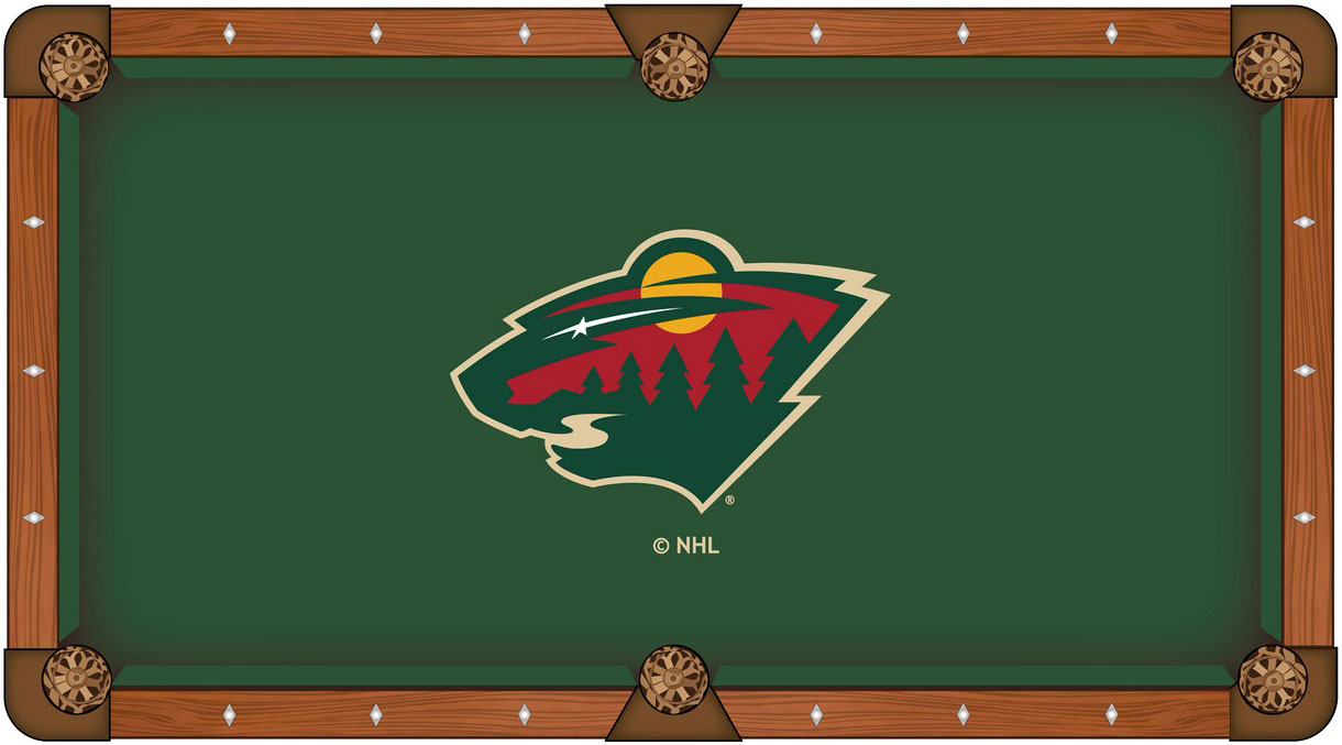 Minnesota Wild Pool Table Felt