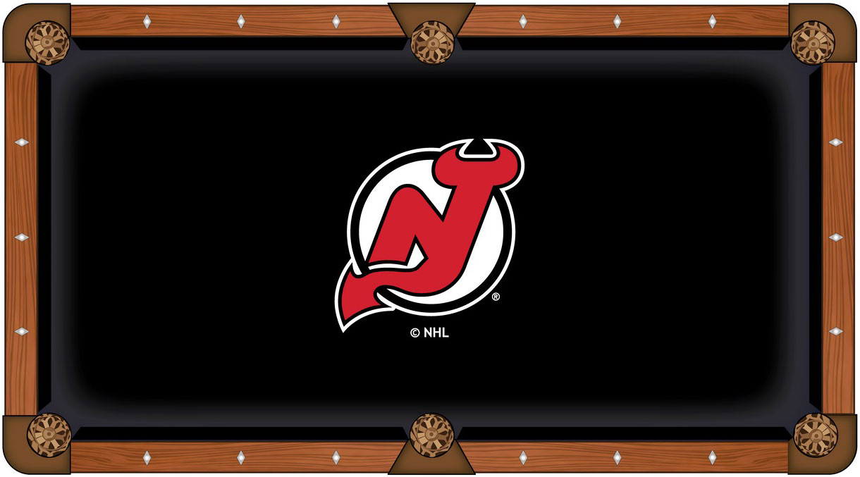 New Jersey Devils Pool Table Felt