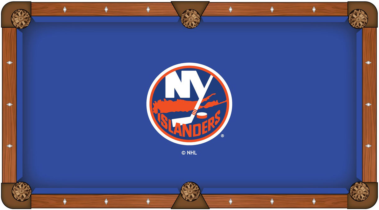 New York Islanders Pool Table Felt