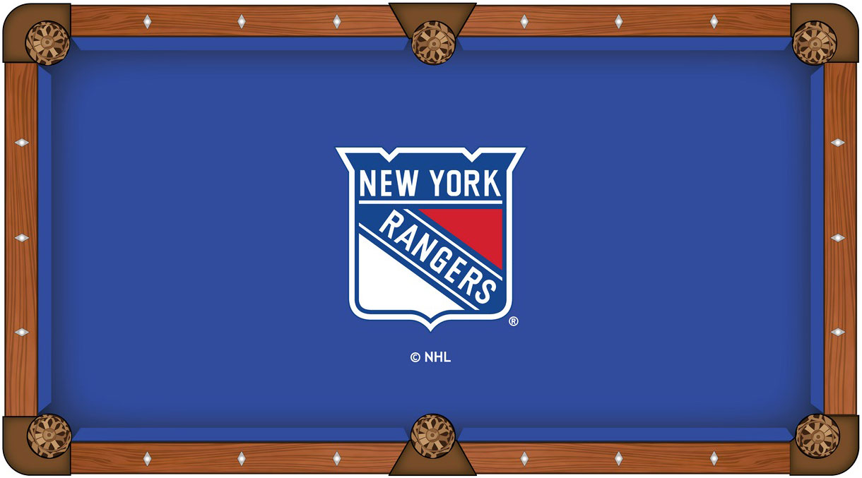 New York Rangers Pool Table Felt