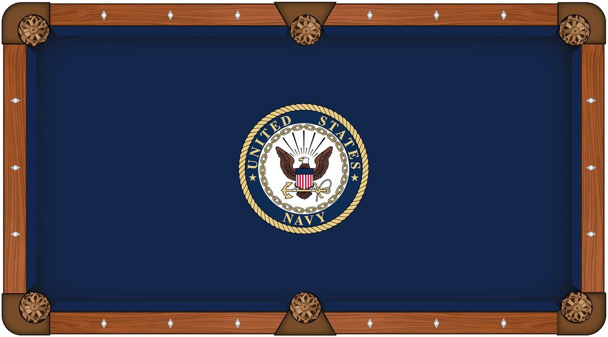 U.S. Navy Pool Table Felt