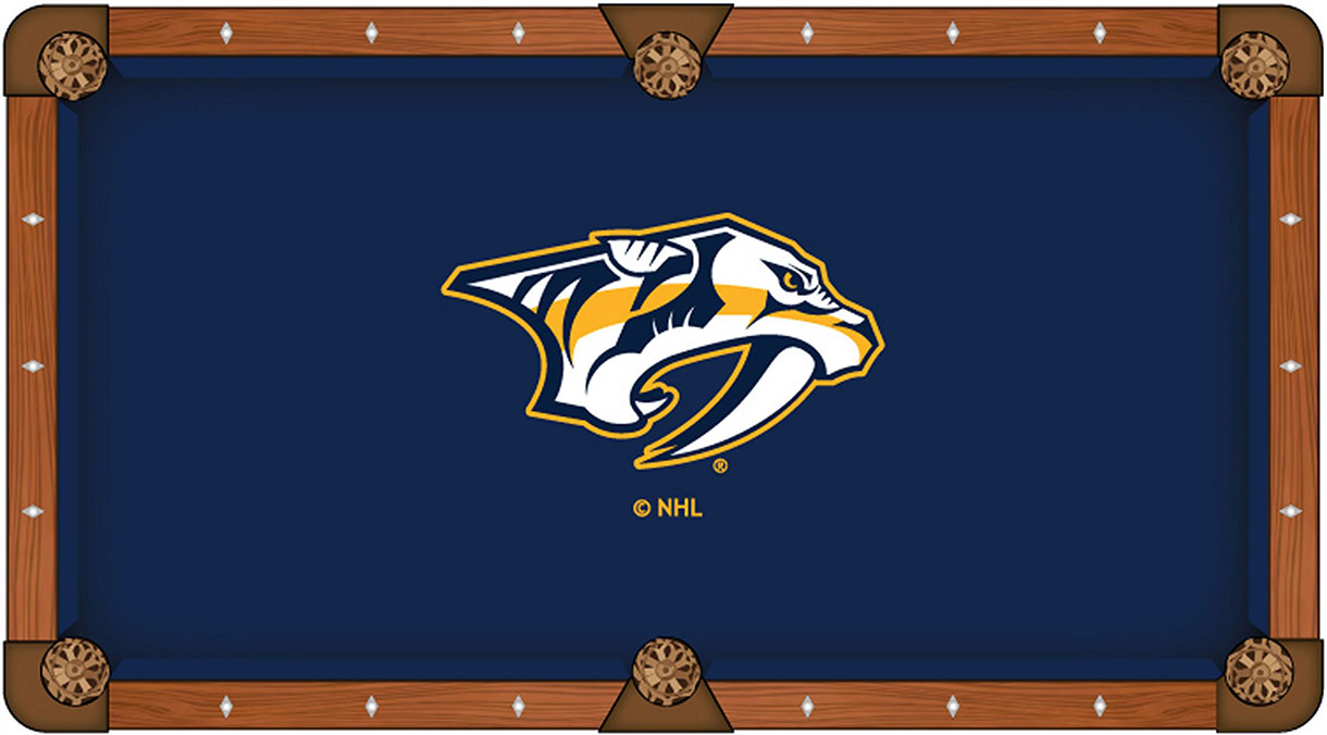 Nashville Predators Pool Table Felt
