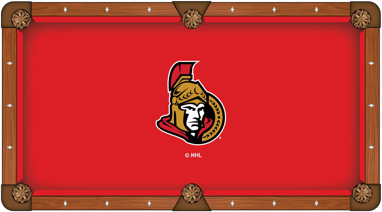 Ottawa Senators Pool Table Felt