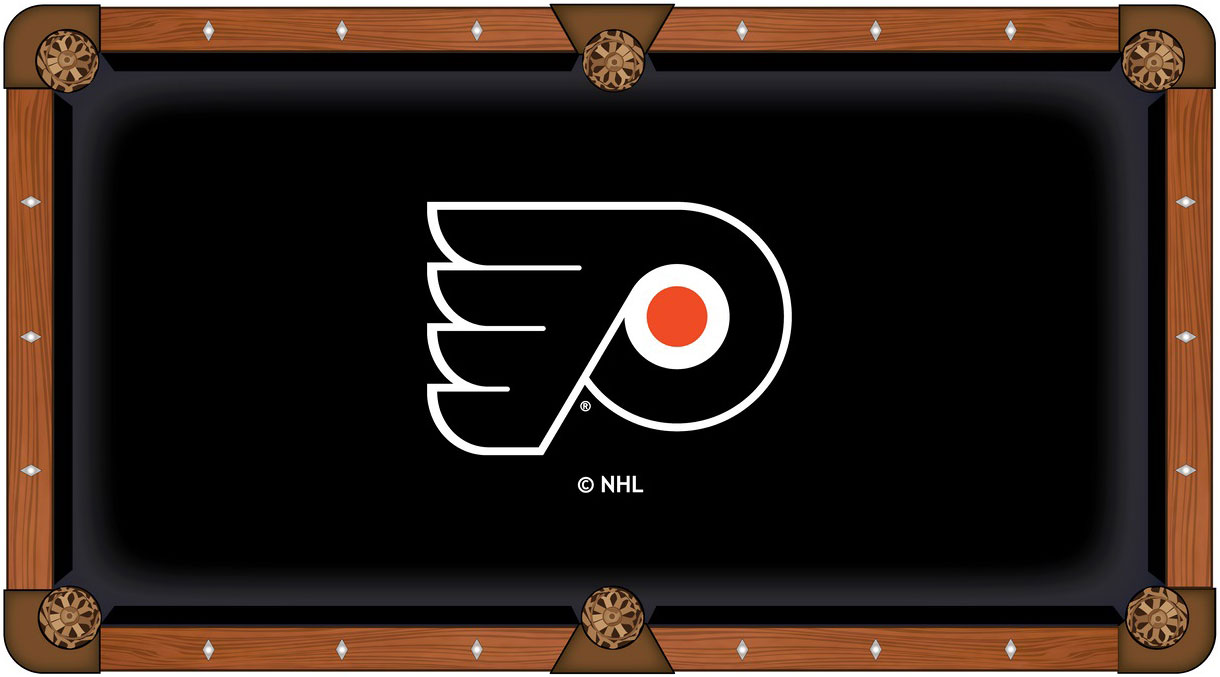 Philadelphia Flyers Pool Table Felt