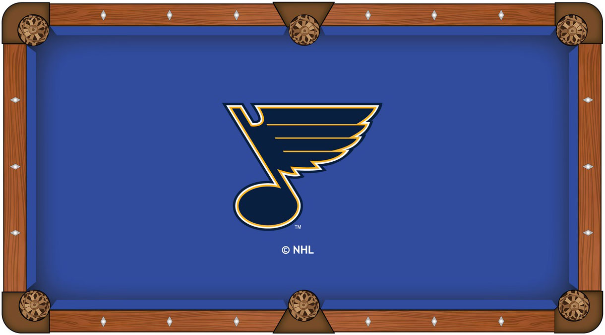 St Louis Blues Pool Table Felt